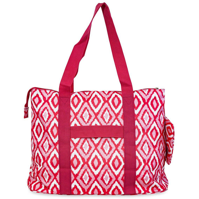 Jenzys Ikat Shopping Tote Bag - jenzys.com