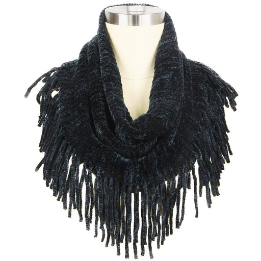 Chenille Tube Tassel Fashion Scarves - jenzys.com