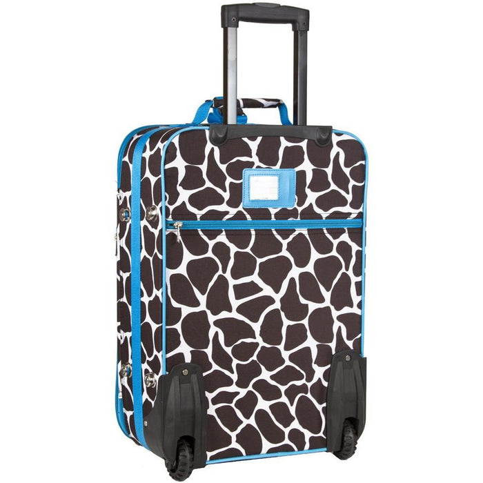 Giraffe Print Carry On - jenzys.com