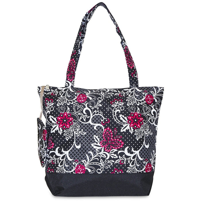 Floral Butterfly Tote Bag - jenzys.com