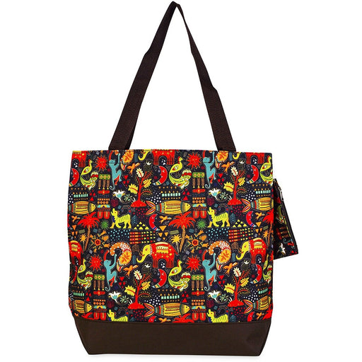 Jenzys Ethnic Jungle Large Tote Bag - jenzys.com