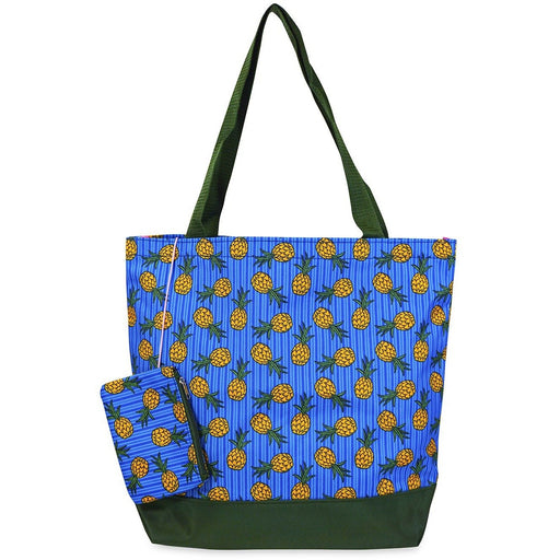 Jenzys Pineapple Large Tote Bag - jenzys.com