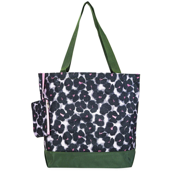 Jenzys Abstract Floral Tote Bag - jenzys.com