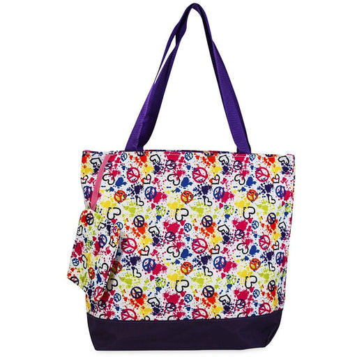 Jenzys Peace Sign Love Tote Bag - jenzys.com