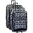 Tribal Print Luggage - jenzys.com