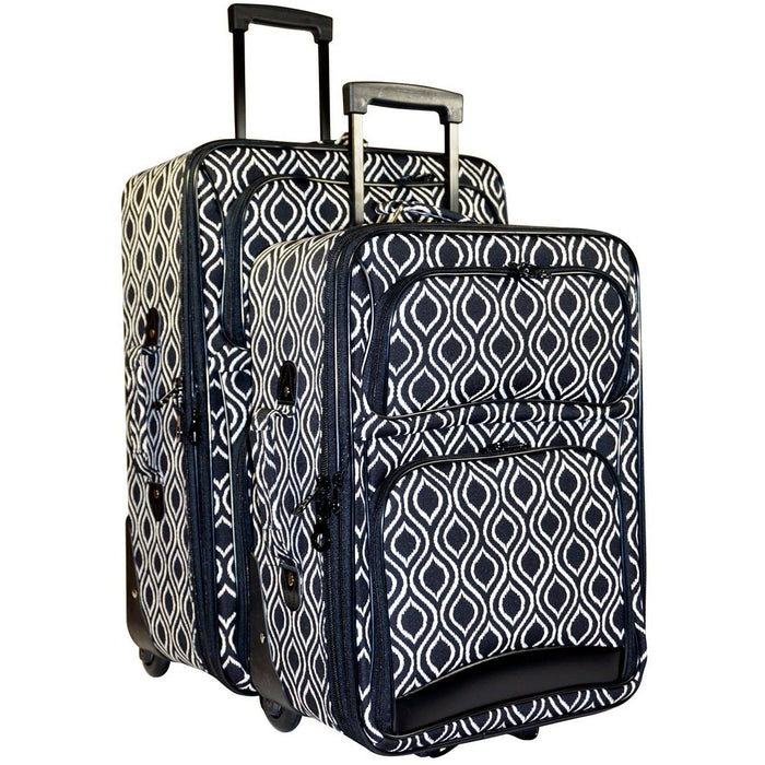 Ikat Luggage Set - jenzys.com