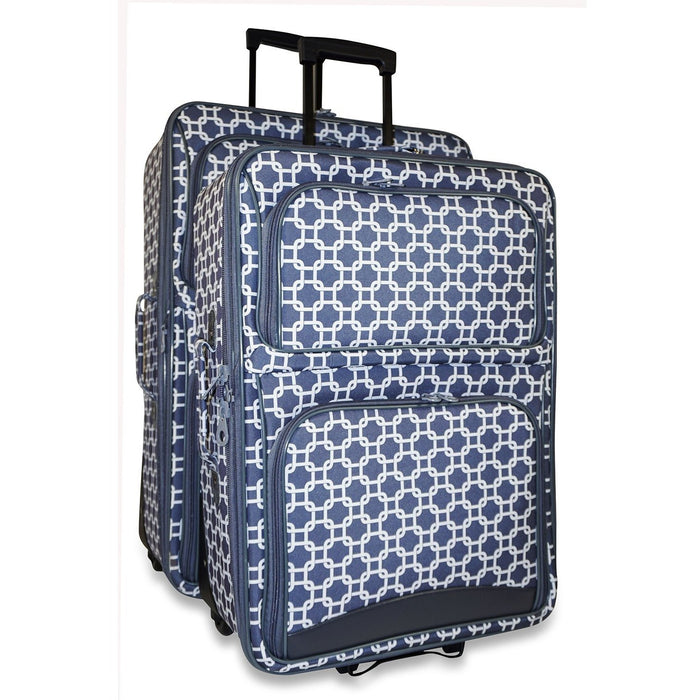 Chain Link Suitcase Luggage Set - jenzys.com
