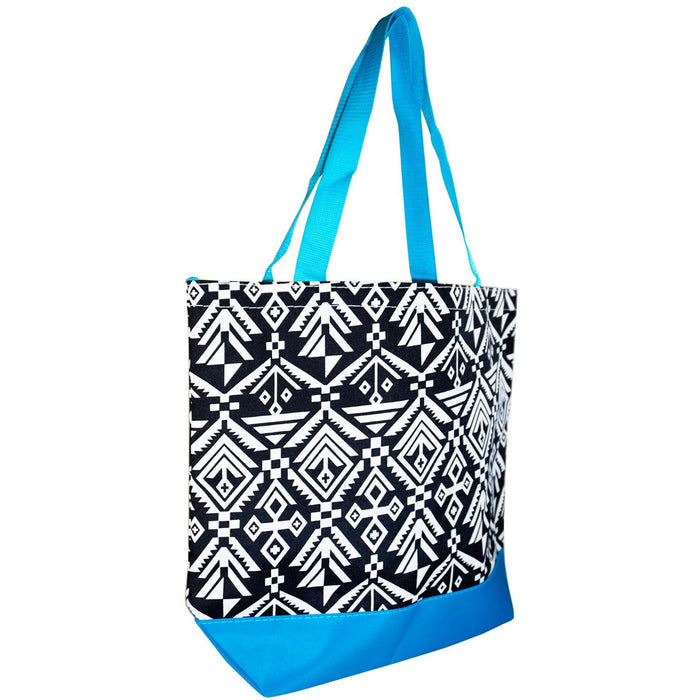 Ever Moda Tribal Print Tote Bag