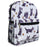 Jenzys Scottie Dogs Mini Backpack - jenzys.com