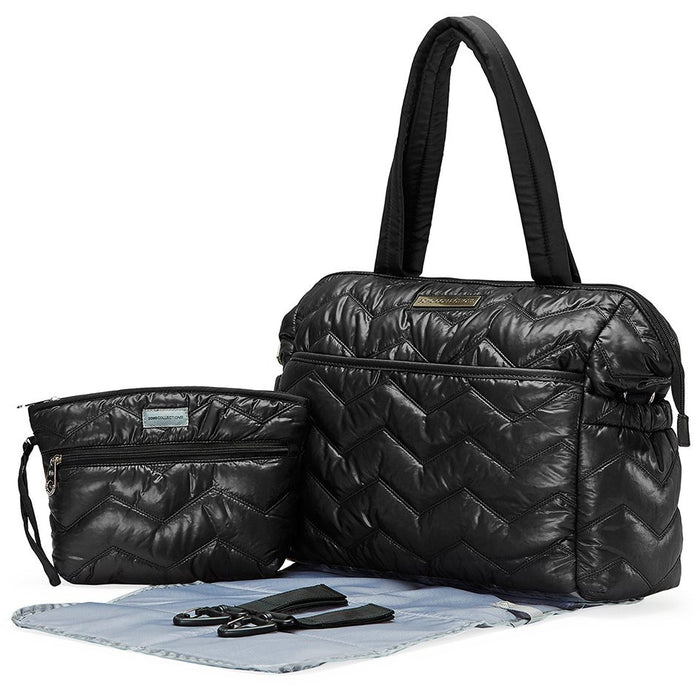 Washington Chevron Tote Diaper Bag - jenzys.com