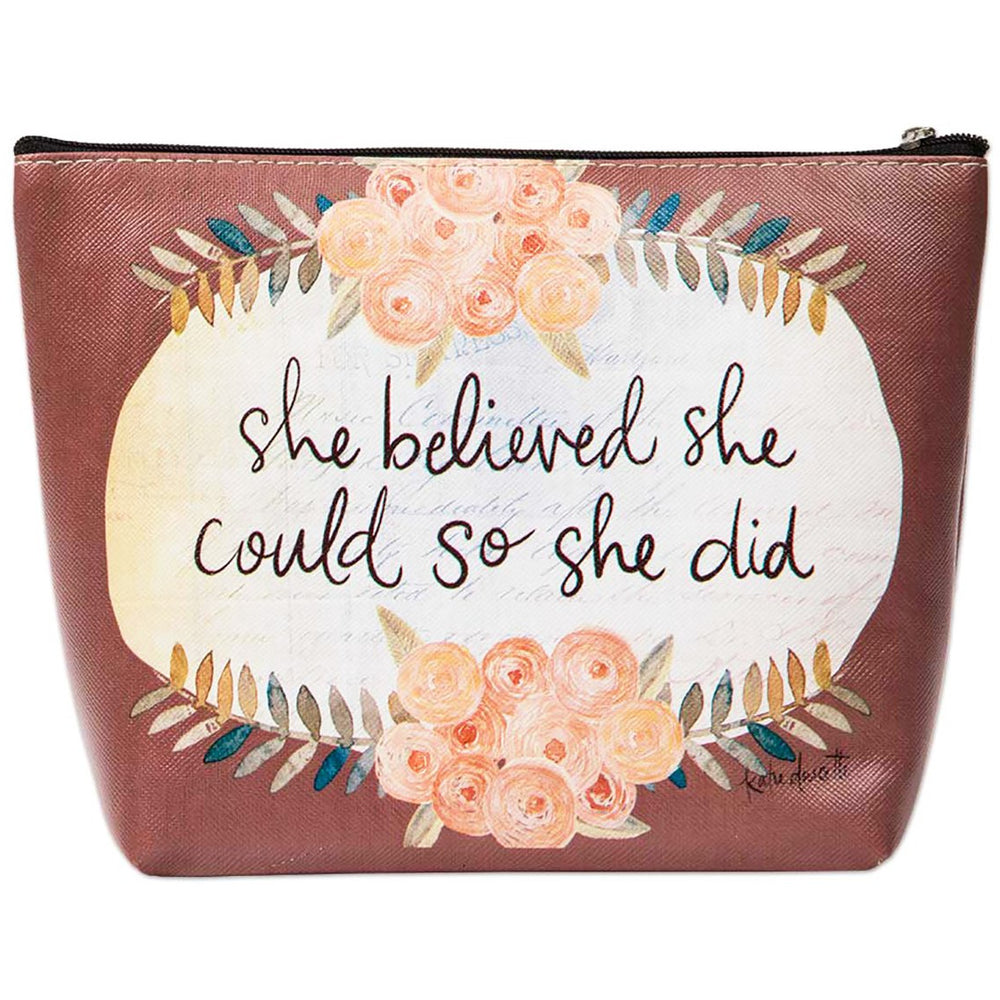 Flower Cosmetic Bag - jenzys.com