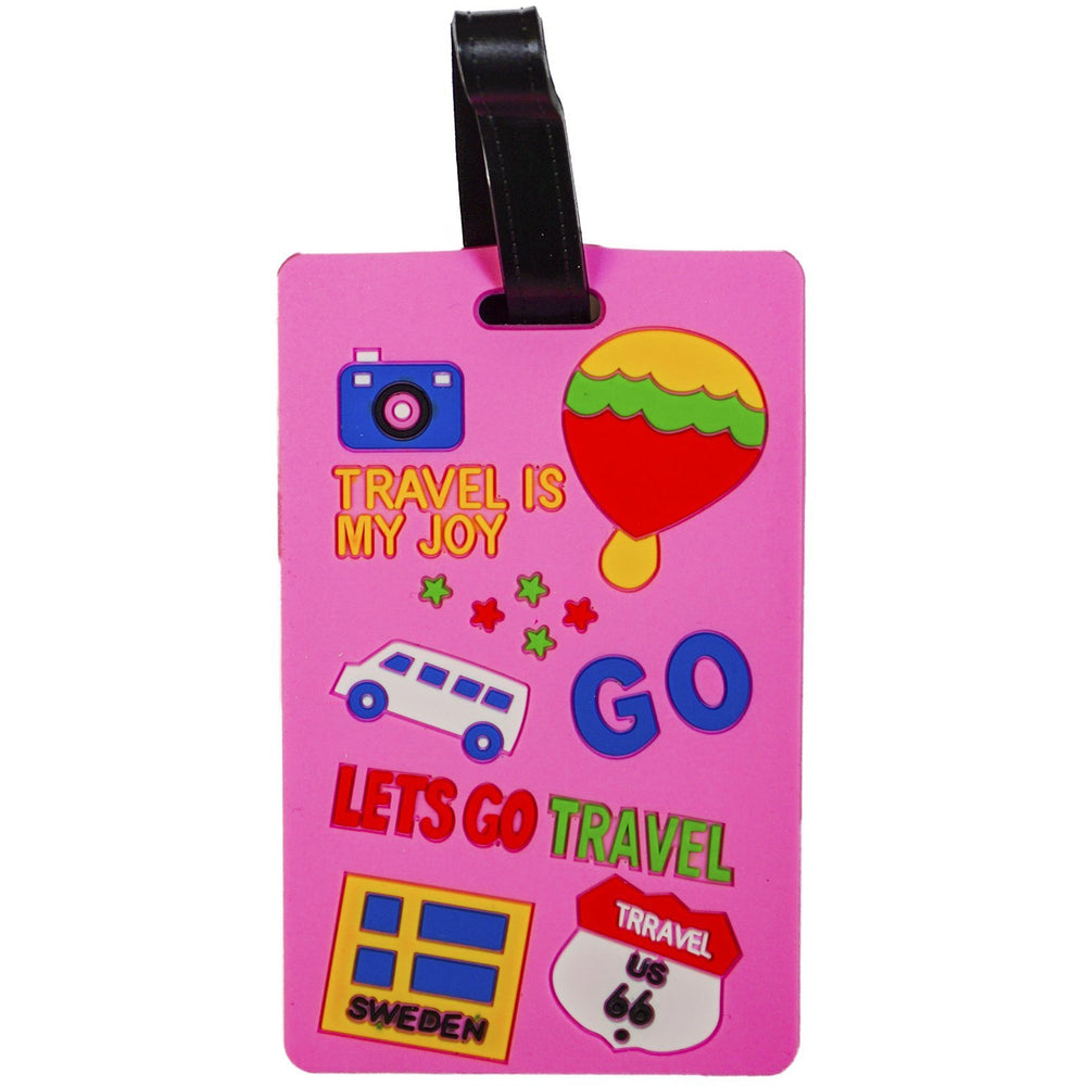 Lets Go Travel Luggage Tag - jenzys.com