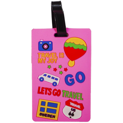 Lets Go Travel Luggage Tag