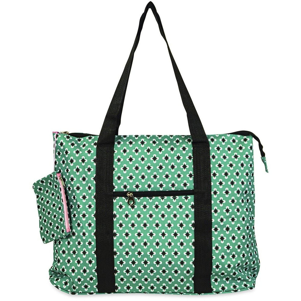 Jenzys Geometric Shopping Tote Bag - jenzys.com