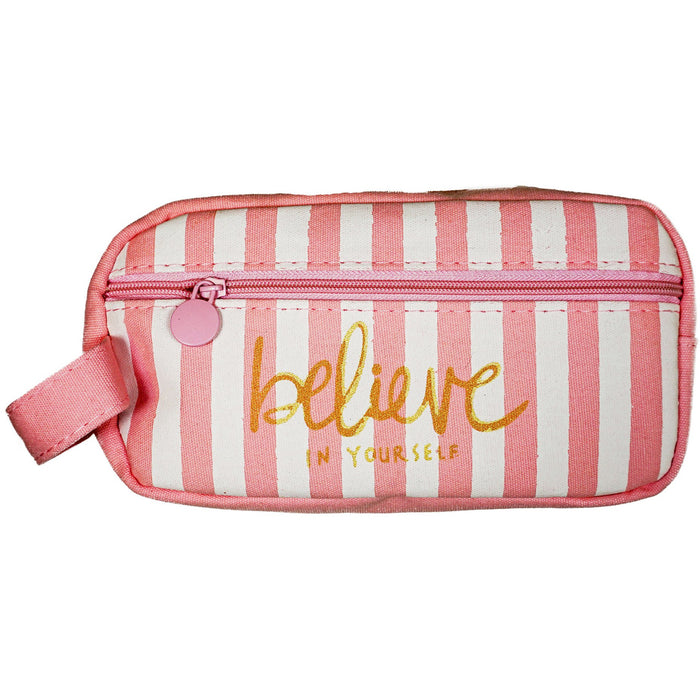 Believe In Yourself Cosmetic Travel Bag - jenzys.com