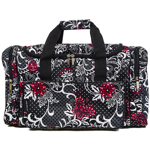 Floral Butterfly Duffle Bag - jenzys.com