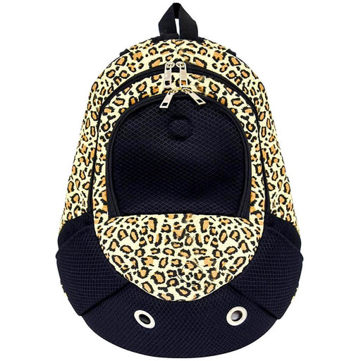 Leopard Print Backpack Pet Carrier - jenzys.com
