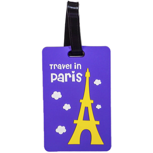 Travel In Paris Luggage Tag