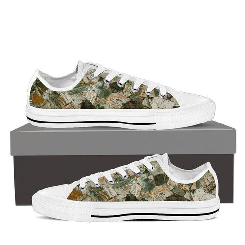 Ocean Jasper Women's Low Tops White