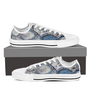 Wild Agate Women's Low Top Canvas Shoe White