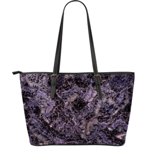 Amethyst Large Leather Tote