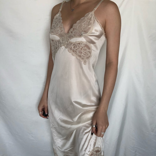 Light Cream and Lace Negligee