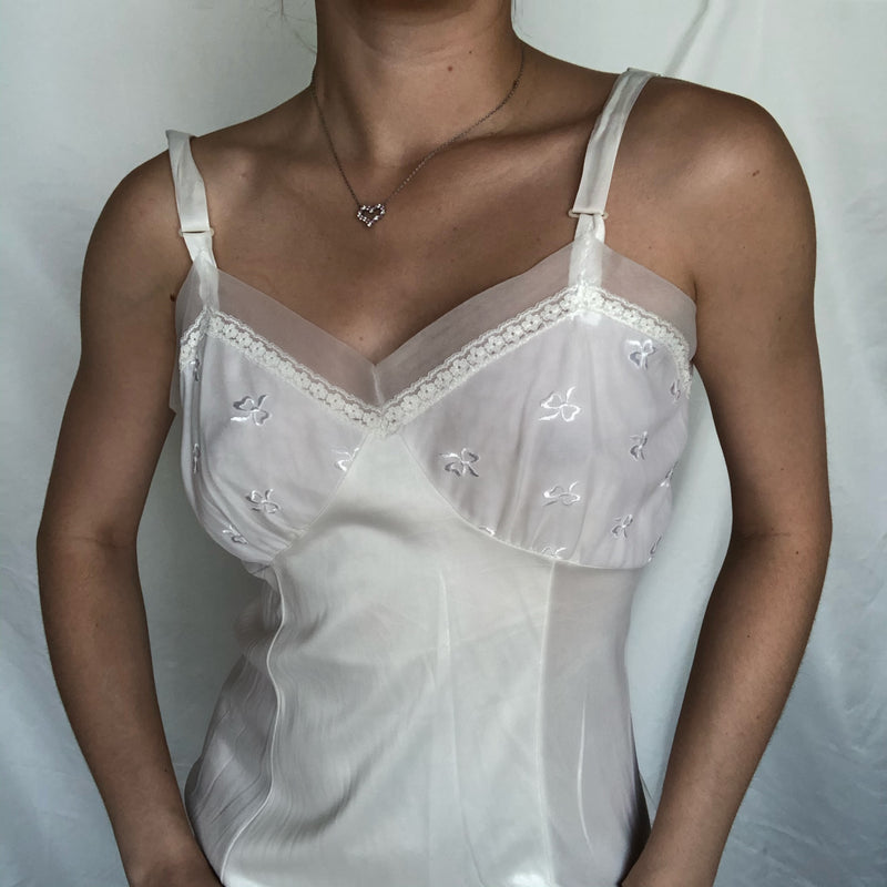 White Lace Negligee