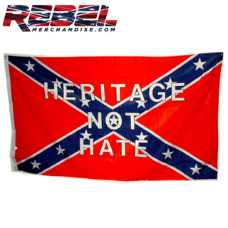 Heritage Not Hate Flag 3'x5'