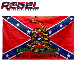 Don't tread On Me Rebel Flag