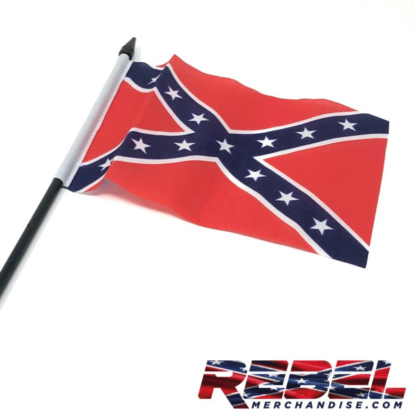 "6"" x 4.25"" Rebel Flag"