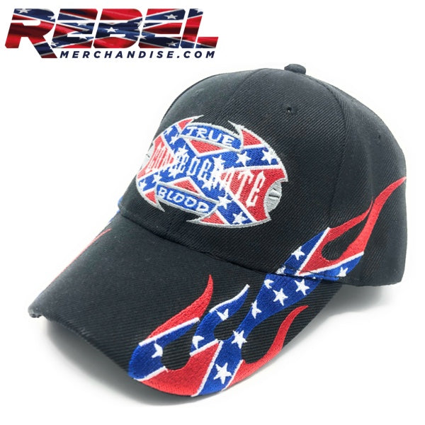 Black 'True Confederate Blood' Hat