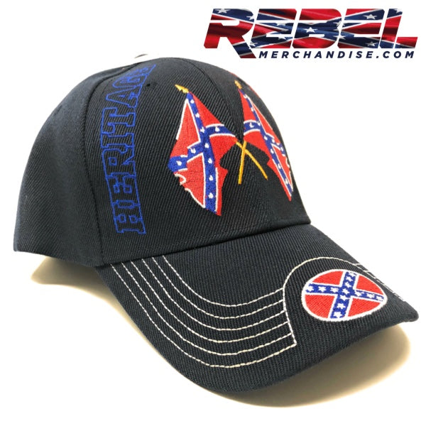 Blue 'Heritage Not Hate' Rebel Hat