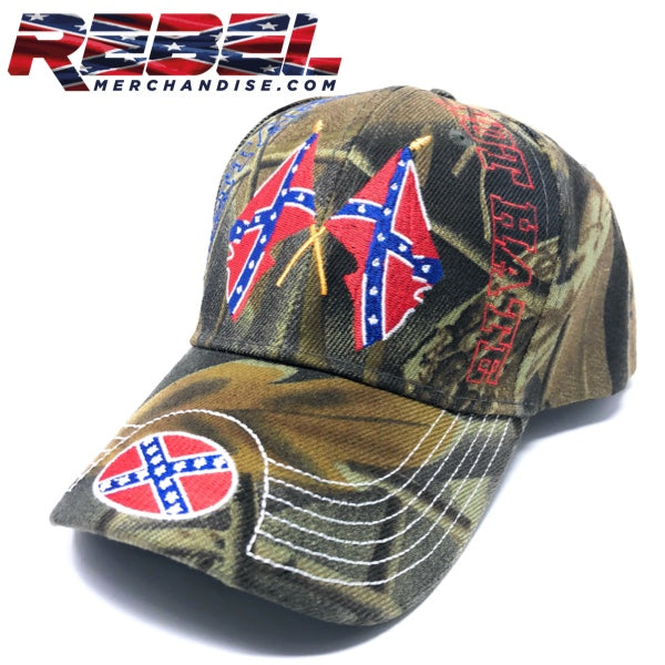 Camo 'Heritage Not Hate' Rebel Hat