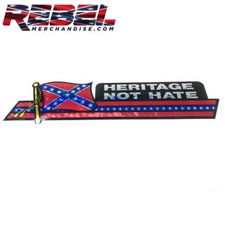 Heritage Not Hate Bumper Sticker