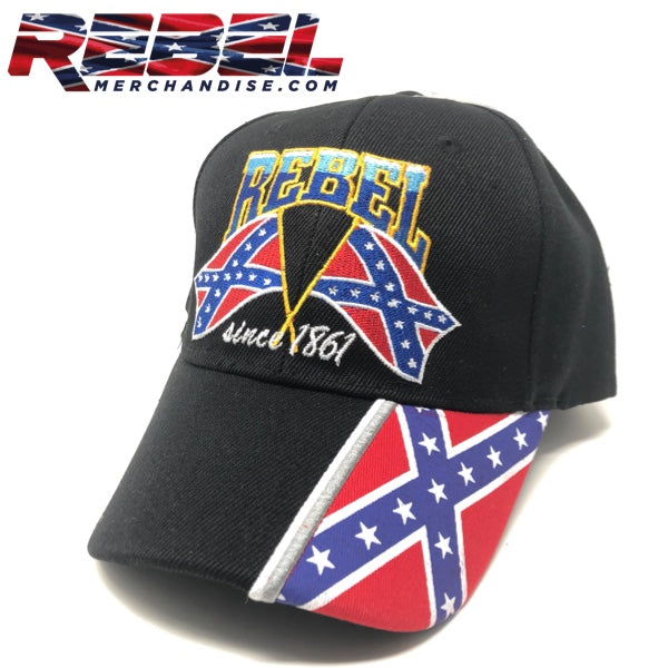 Rebel Cap Since 1861 (black)