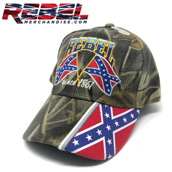 Rebel Cap Since 1861 Camo