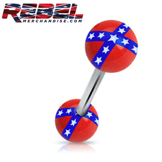 Rebel Flag Barbell