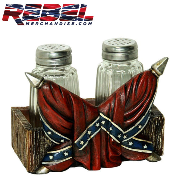 Rebel Flag Salt & Pepper Set