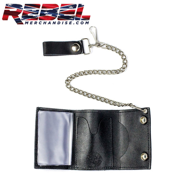 Inside Rebel Iron Cross Wallet
