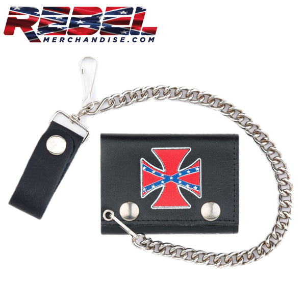 Rebel Iron Cross Wallet