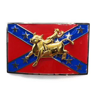 ZZZ 'Gold Rider' Belt Buckle