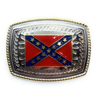 ZZZ 'Silver Rebel' Belt Buckle