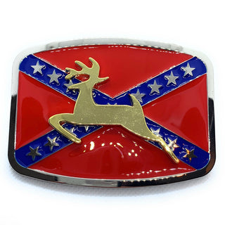 ZZZ 'Gold Deer' Belt Buckle