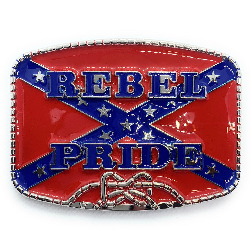 'Rebel Pride' Belt Buckle