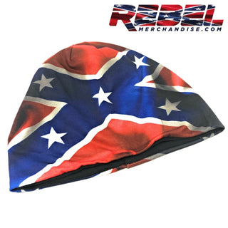 Wavy Rebel Flag Beanie