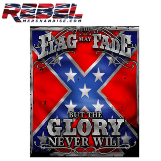 "'The Flag My Fade' Rebel Fleece Blanket 50"" x 60"""