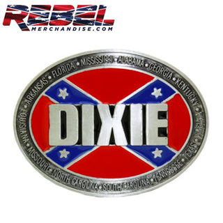 Confederate States Belt Buckle