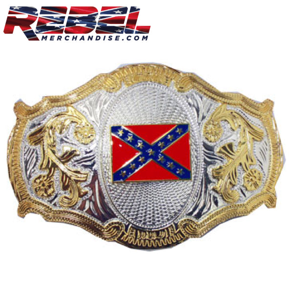 Big, Bold & Heavy Rebel Belt Buckle