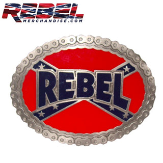Biker Chain Rebel Belt Buckle