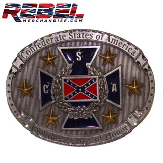 Southern Cross Rebel Belt Buckle